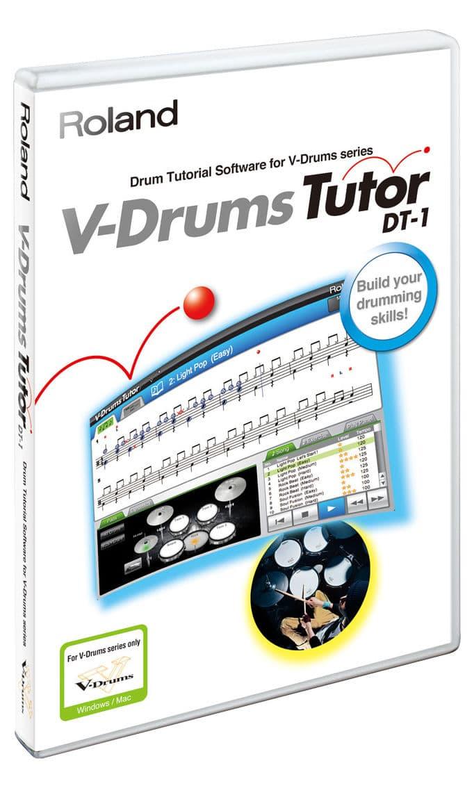Drumslernen - Roland DT 1 V Drum Tutor Lernprogramm - Onlineshop Musikhaus Kirstein