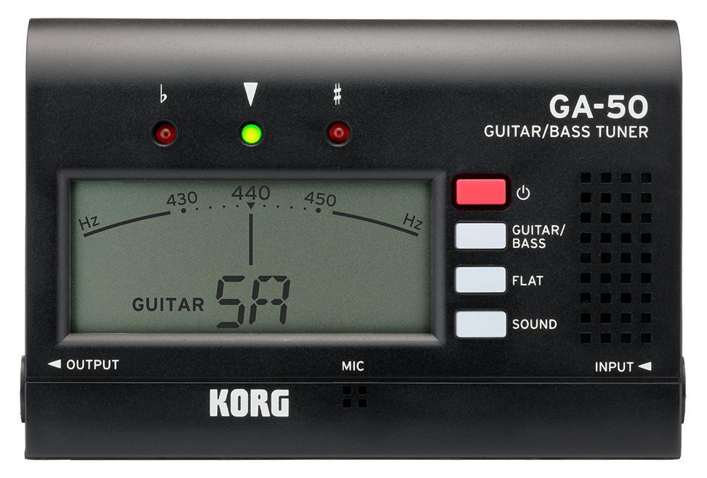 Musikerzubehoer - Korg GA 50 Tuner - Onlineshop Musikhaus Kirstein