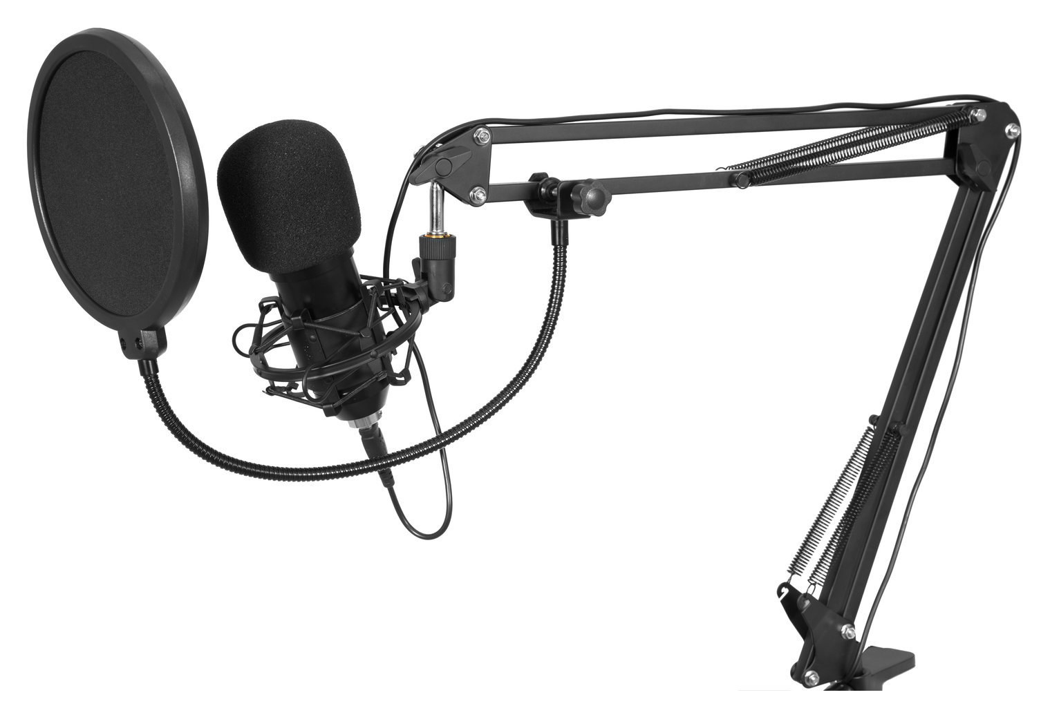 Mikrofone - Omnitronic BMS 1C USB Kondensator Broadcastmikrofonset - Onlineshop Musikhaus Kirstein