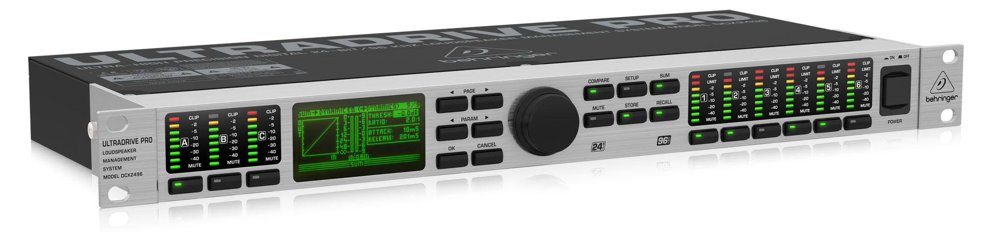 Studioeffekte - Behringer DCX2496 Ultra Drive Pro - Onlineshop Musikhaus Kirstein