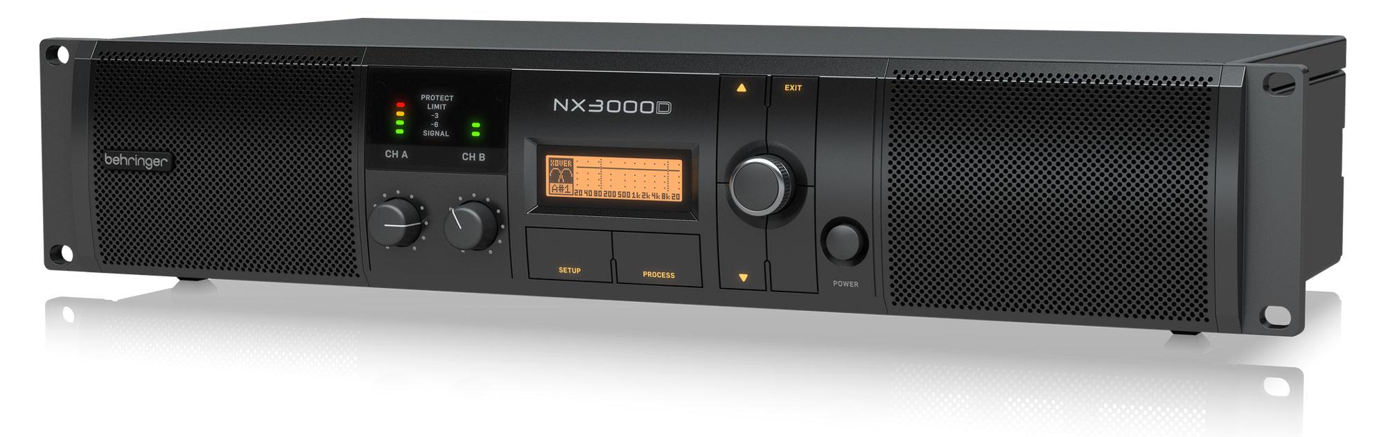 Behringer NX3000D Endstufe
