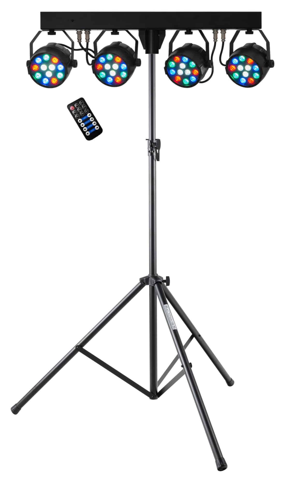 Lichtsets - Eurolite LED KLS PARty Kompakt Lichtset mit Stativ - Onlineshop Musikhaus Kirstein