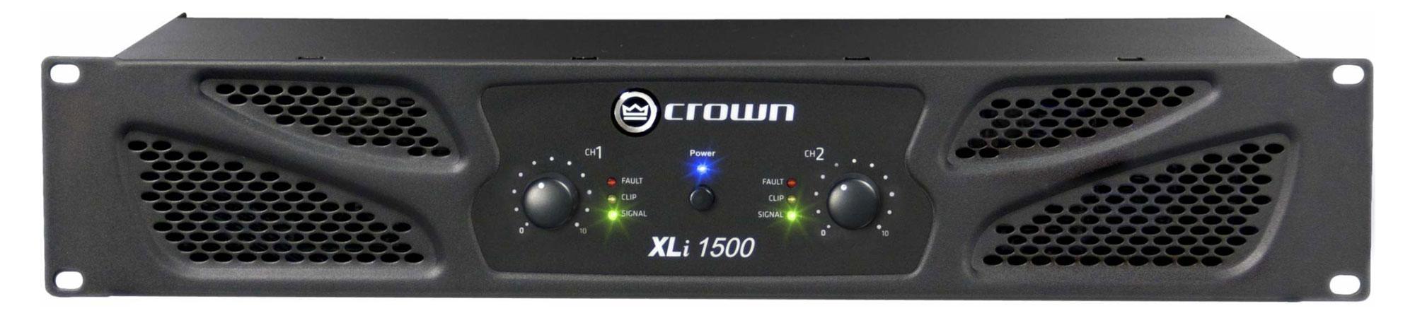 Paendstufen - Crown XLi 1500 Endstufe - Onlineshop Musikhaus Kirstein