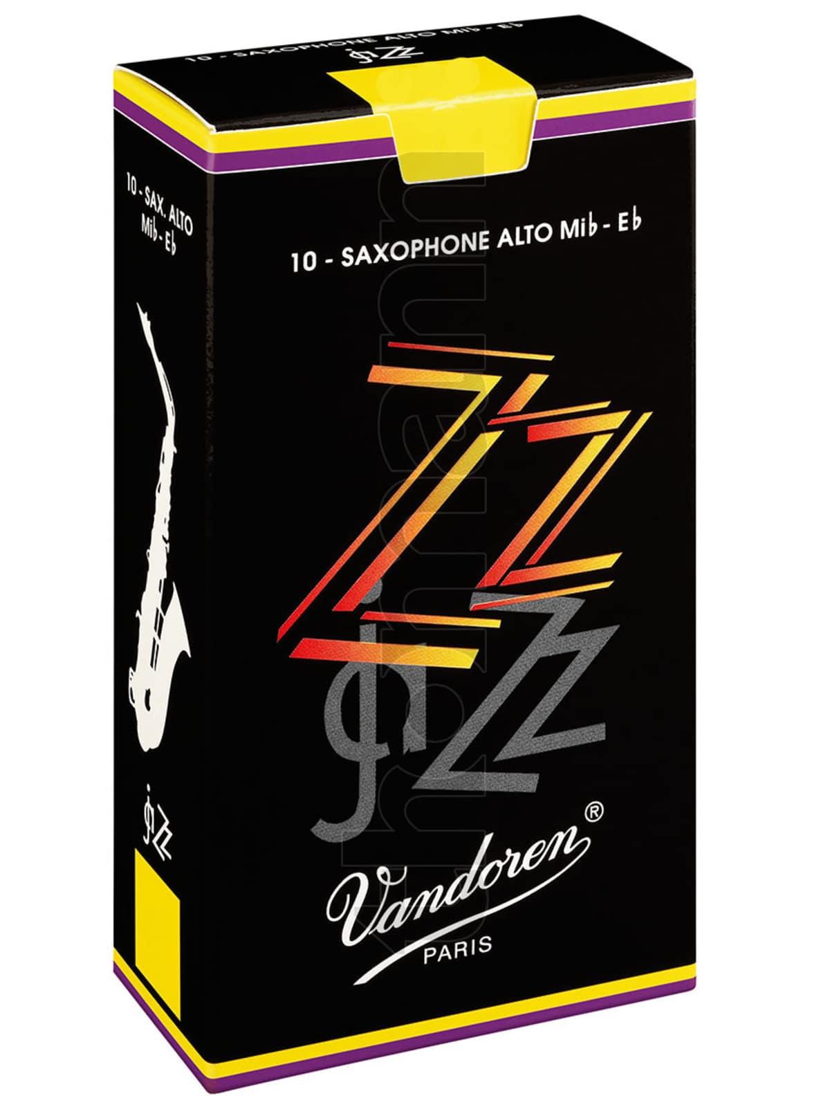 Blaeserzubehoer - Vandoren 10er Pack Blätter Altsaxophon ZZ Stärke 2 - Onlineshop Musikhaus Kirstein