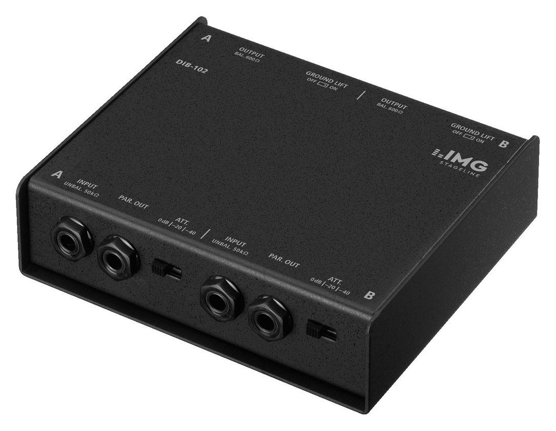 Diboxen - IMG Stageline DIB 102 DI Box - Onlineshop Musikhaus Kirstein