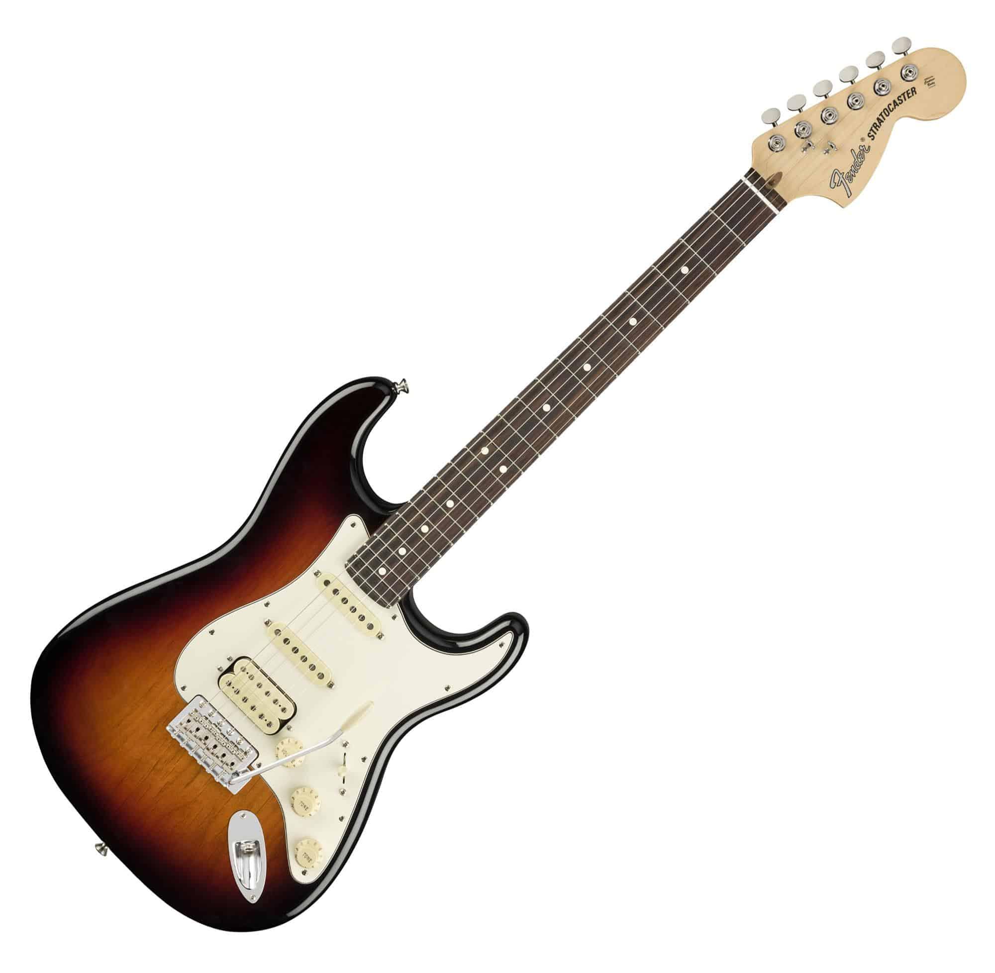 Egitarren - Fender American Performer Strat HSS RW 3CS - Onlineshop Musikhaus Kirstein