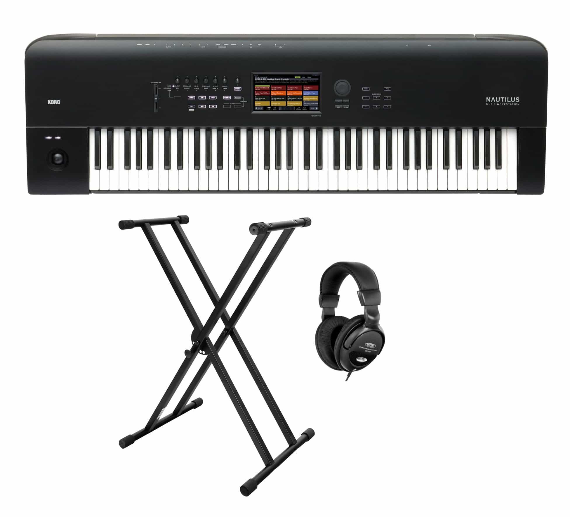 Synthesizer - Korg Nautilus 73 Synthesizer Set - Onlineshop Musikhaus Kirstein