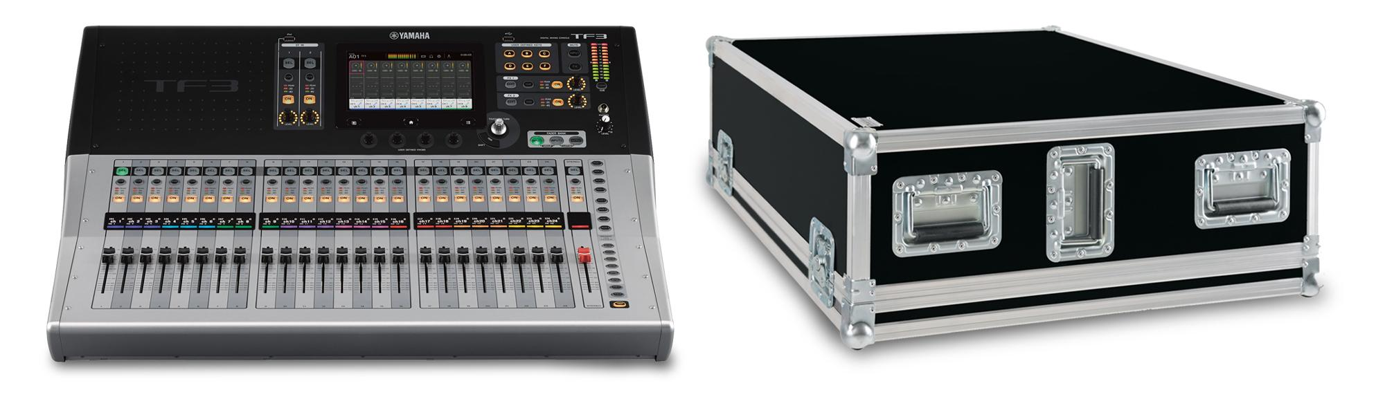 Yamaha TF-3 Digitalmixer Set mit Case