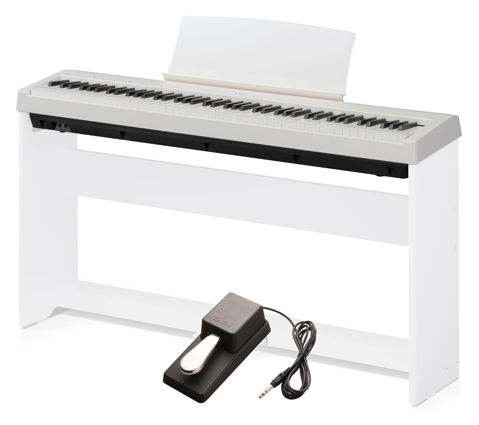 Stagepianos - Kawai ES 110 W Stagepiano weiß - Onlineshop Musikhaus Kirstein