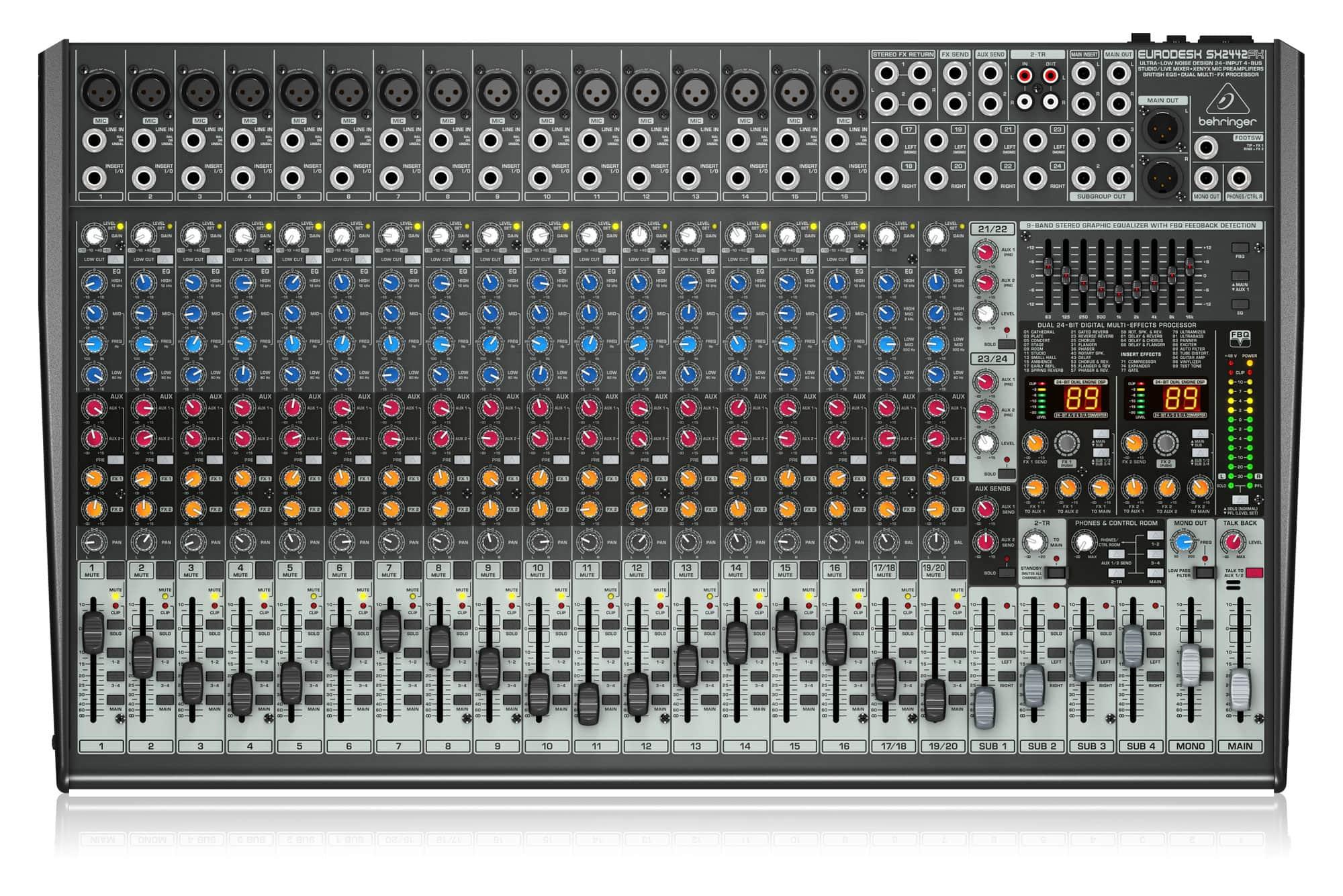 Mischpulte - Behringer SX2442FX Mixer - Onlineshop Musikhaus Kirstein