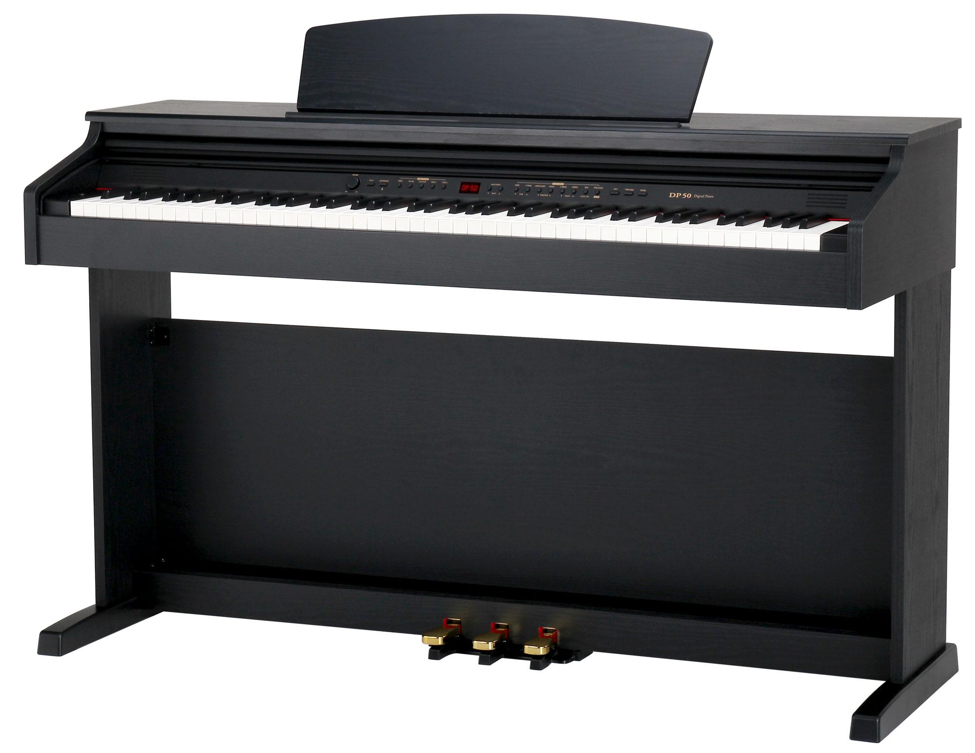 classic cantabile dp 50 sm electric piano black matt. Black Bedroom Furniture Sets. Home Design Ideas