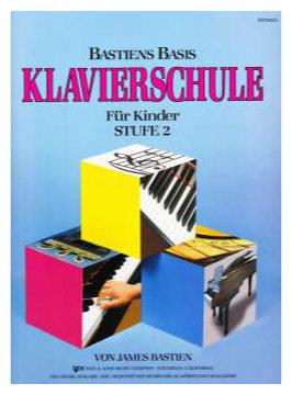 Klavierlernen - Bastiens Basis Klavierschule für Kinder Stufe 2 - Onlineshop Musikhaus Kirstein