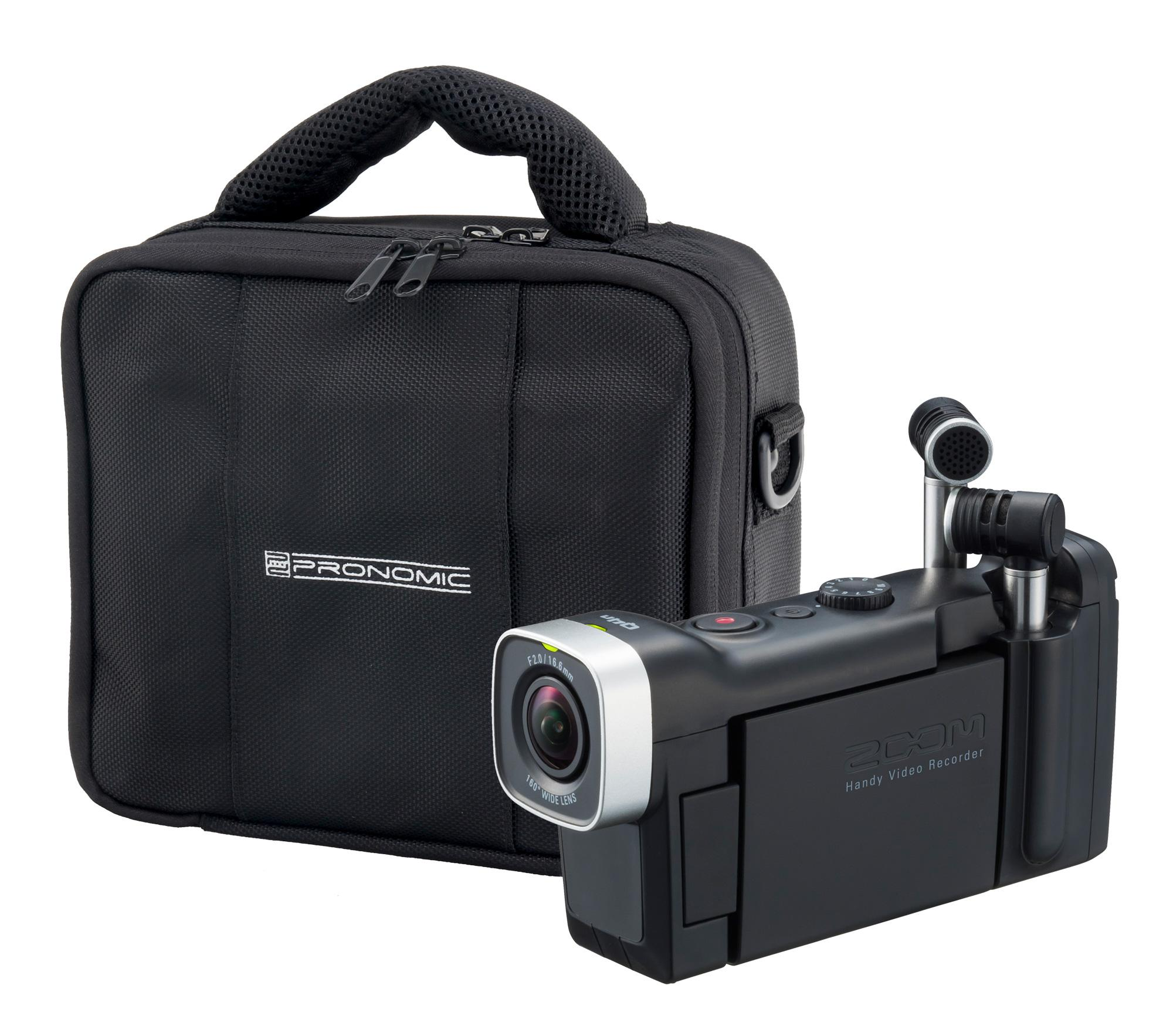 Zoom Q4n SET inkl. Pronomic RB Flex Bag