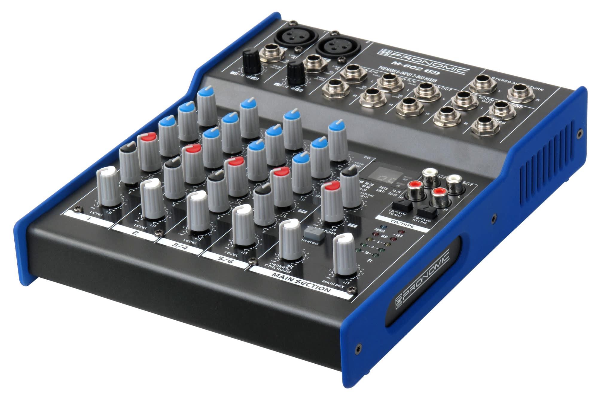 Mikrofone - Pronomic M 602UD USB Mischpult Retoure (Zustand sehr gut) - Onlineshop Musikhaus Kirstein