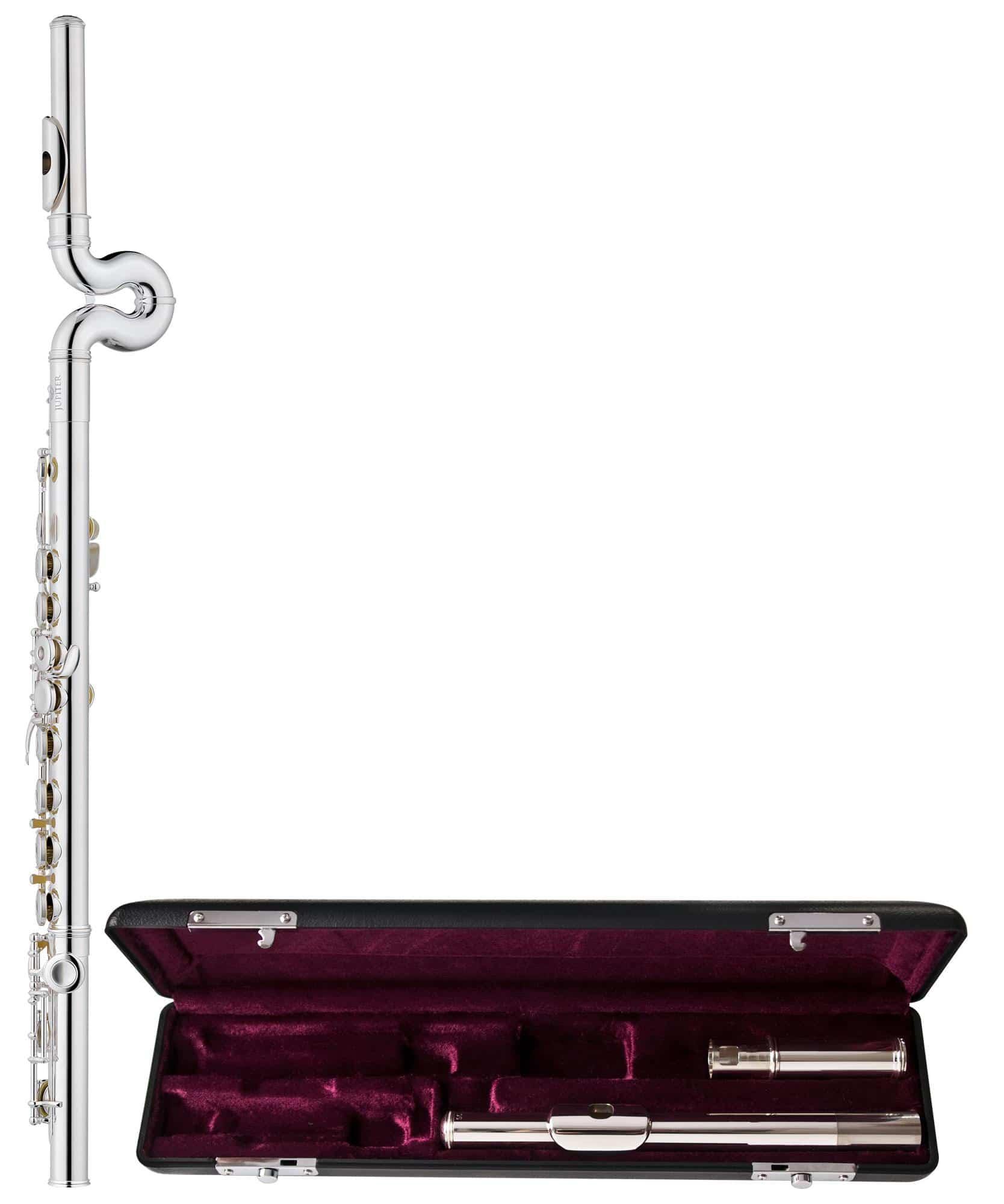 Sonstigeblasinstrumente - Jupiter JFL700WRXE Querflöten Paket Waveline - Onlineshop Musikhaus Kirstein