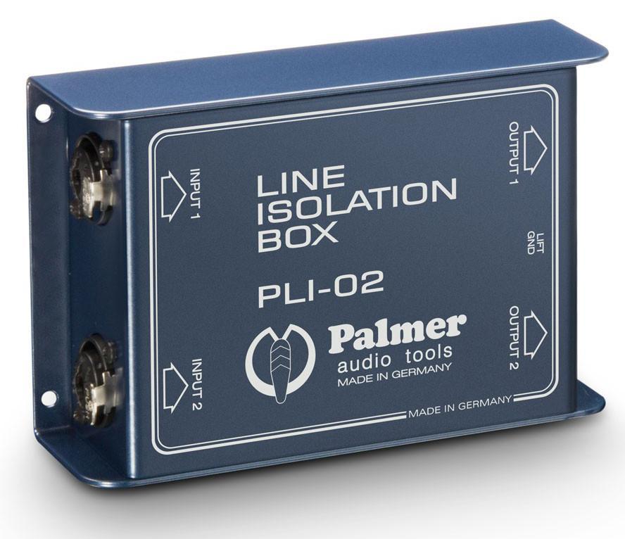 Diboxen - Palmer PLI02 Line Box 2 Kanal - Onlineshop Musikhaus Kirstein