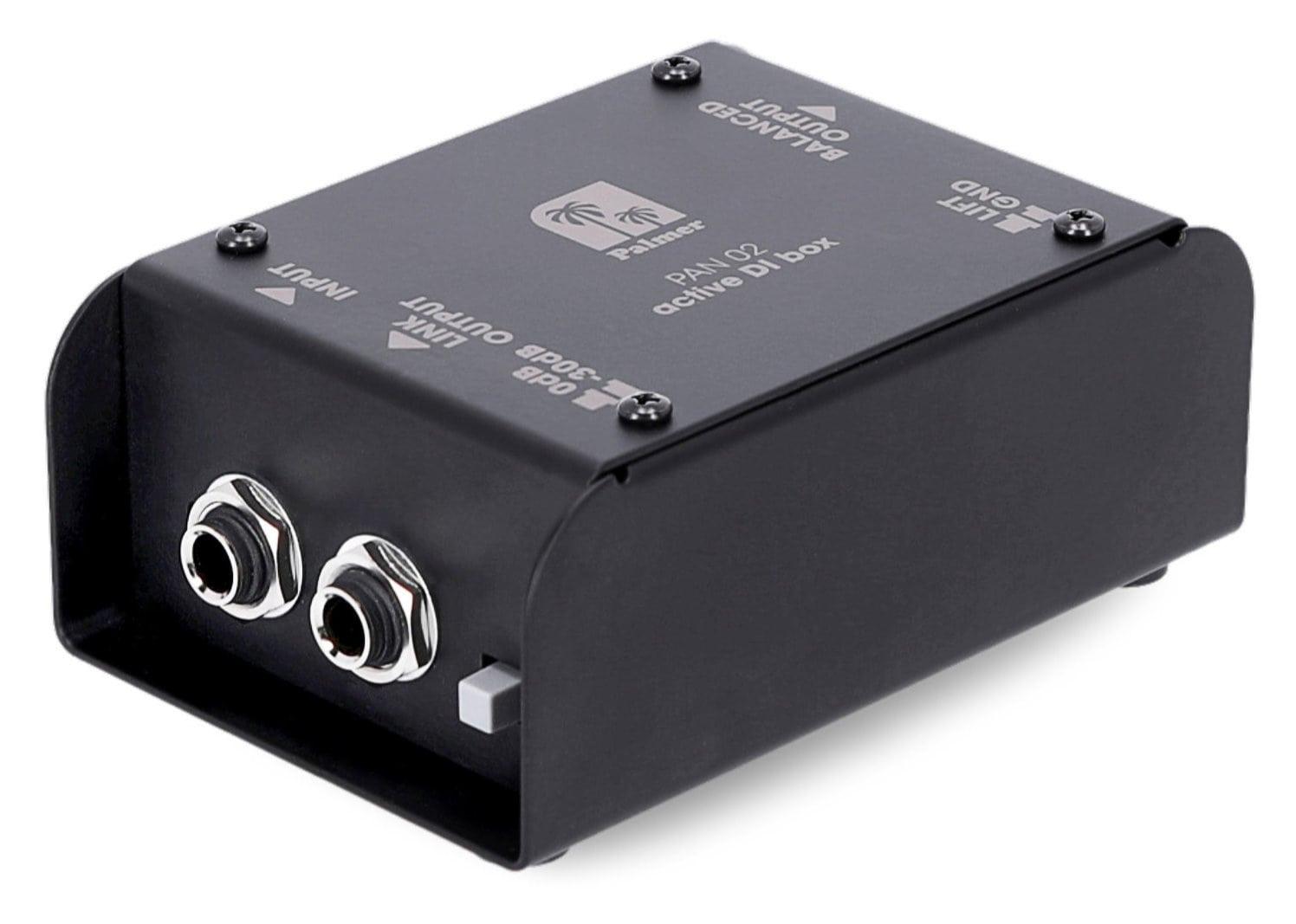 Diboxen - Palmer PAN02 aktive DI Box - Onlineshop Musikhaus Kirstein