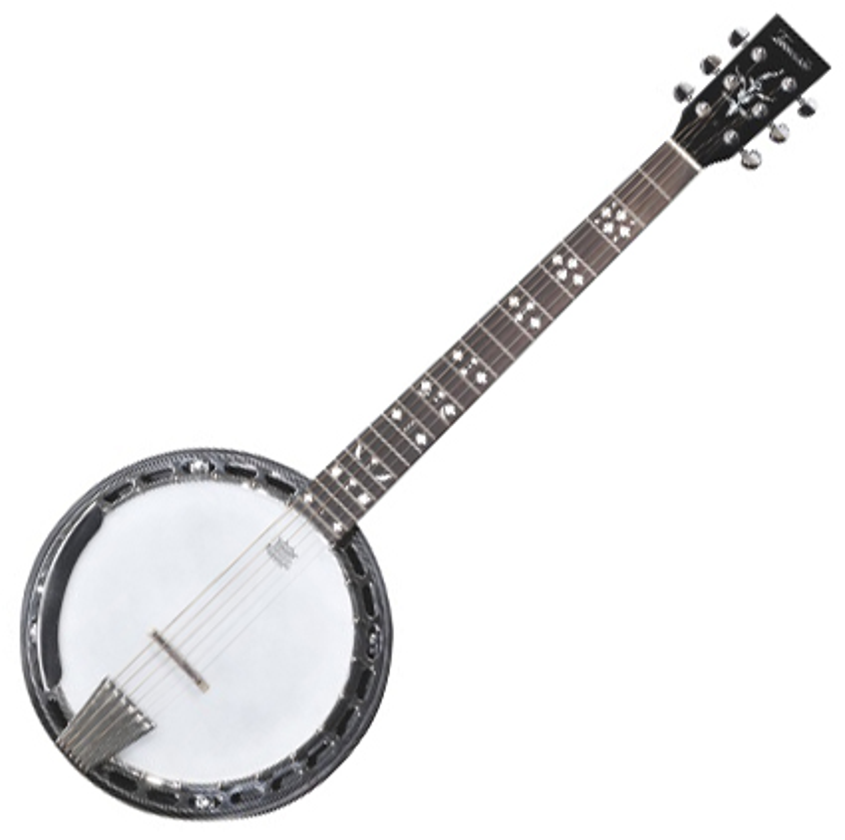Tennessee Premium Banjo, 6 Saitig