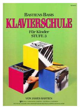 Klavierlernen - Bastiens Basis Klavierschule für Kinder Stufe 3 - Onlineshop Musikhaus Kirstein