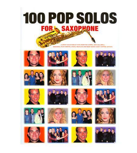 Saxophonlernen - 100 More Pop Solos für Saxophon - Onlineshop Musikhaus Kirstein