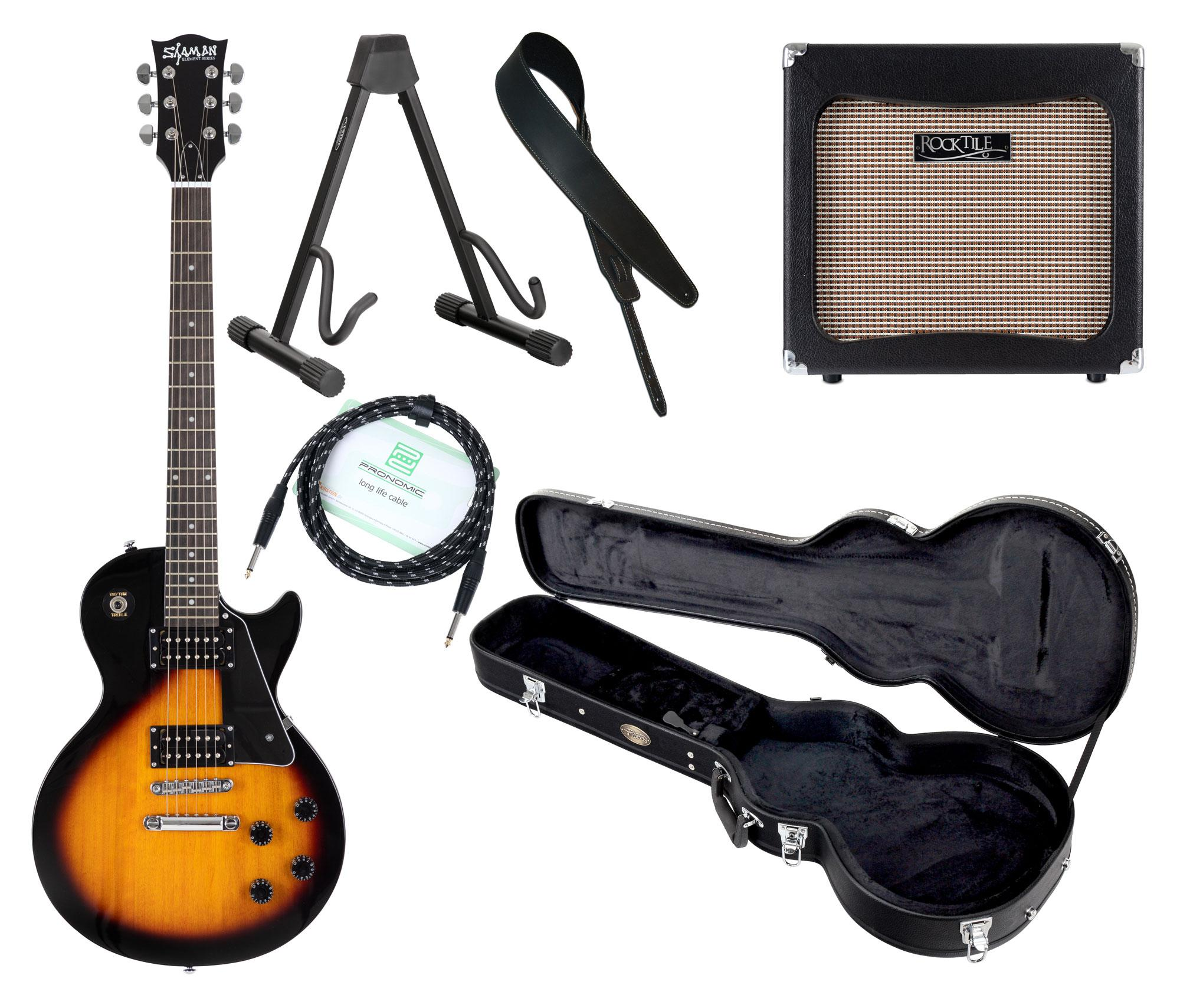 Egitarren - Shaman Element Series SCX 100VS Komplett Set - Onlineshop Musikhaus Kirstein