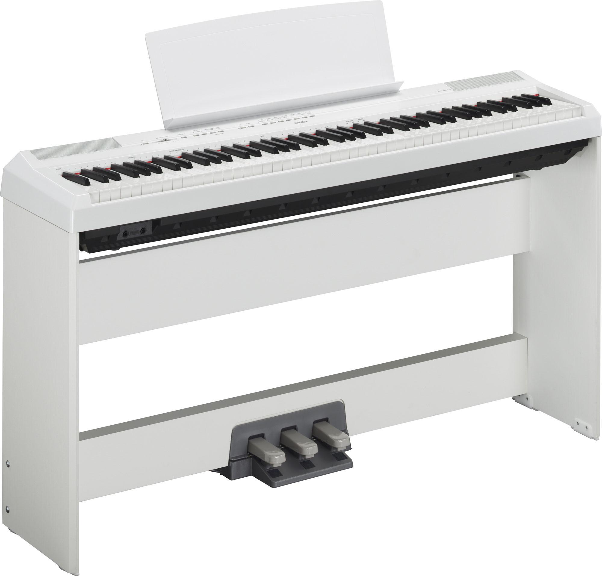 Yamaha P 115WH Stage Piano White SET inkl. Homeständer und Pedaleinheit