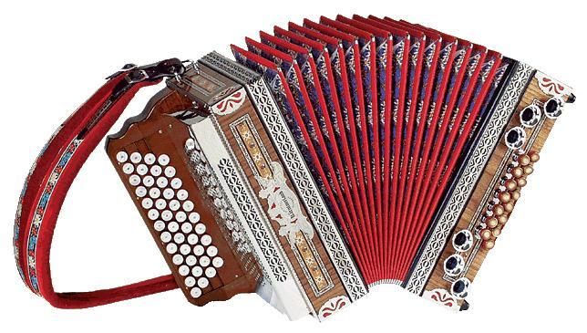 Kärntnerland Klassik Edelholz Harmonika 4/III G-C-F-B
