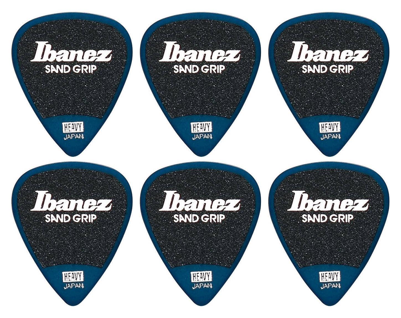 Ibanez PA14HSG DB Picks Wizard Sand Heavy 6er Pack