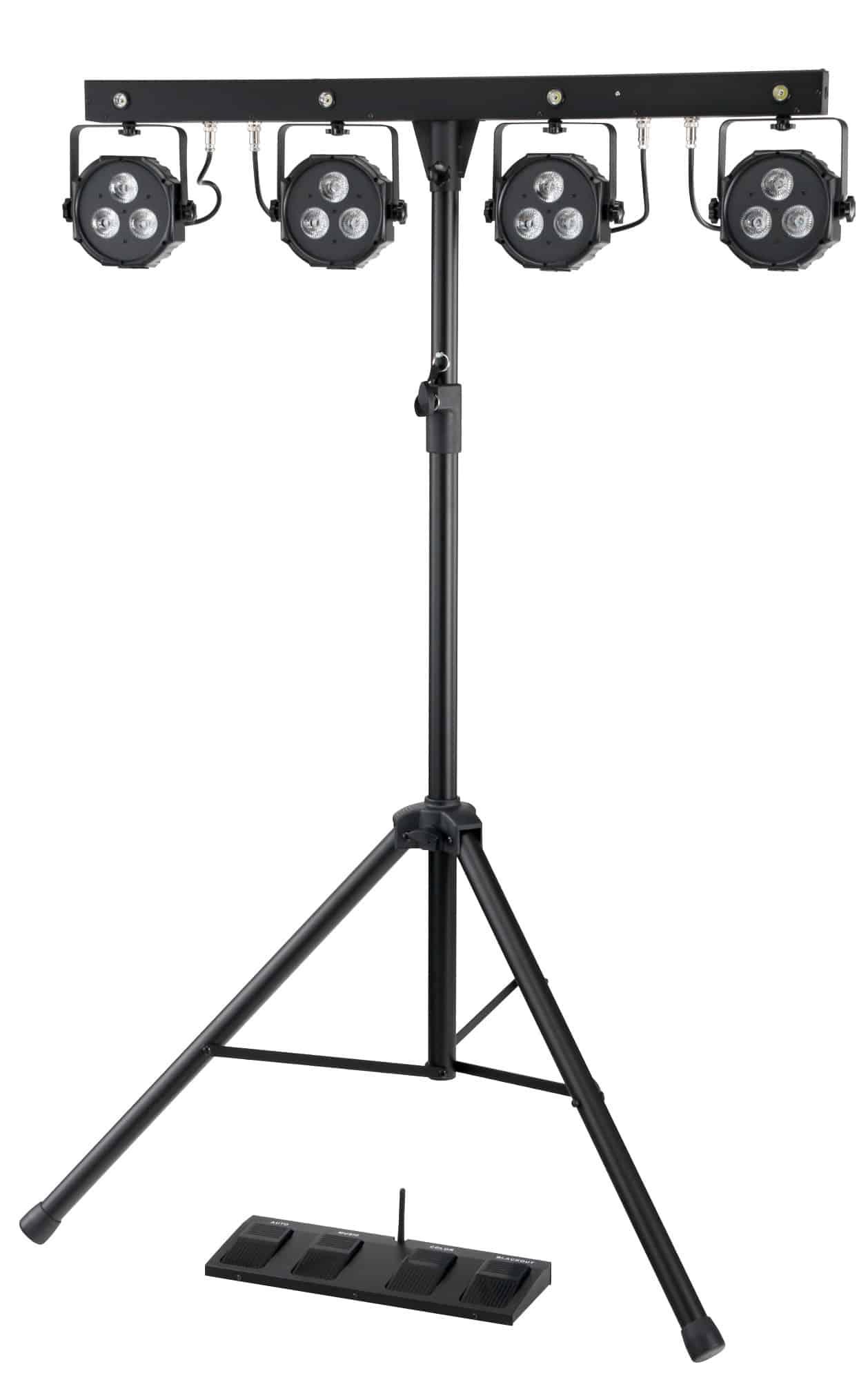 Showlite LB 4390 LED Komplettanlage RGB Licht System