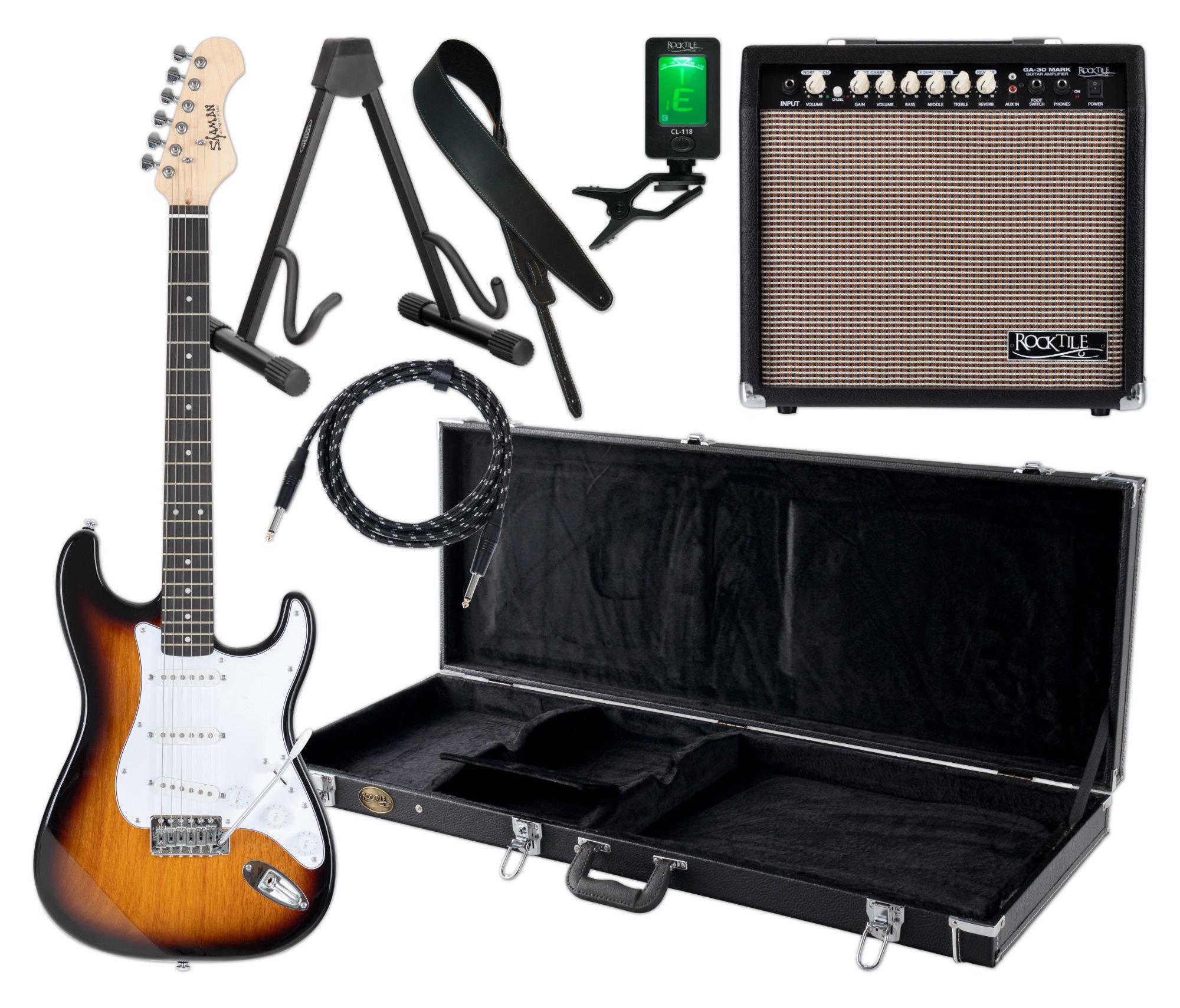 Egitarren - Shaman Element Series STX 100VS Komplett Set - Onlineshop Musikhaus Kirstein