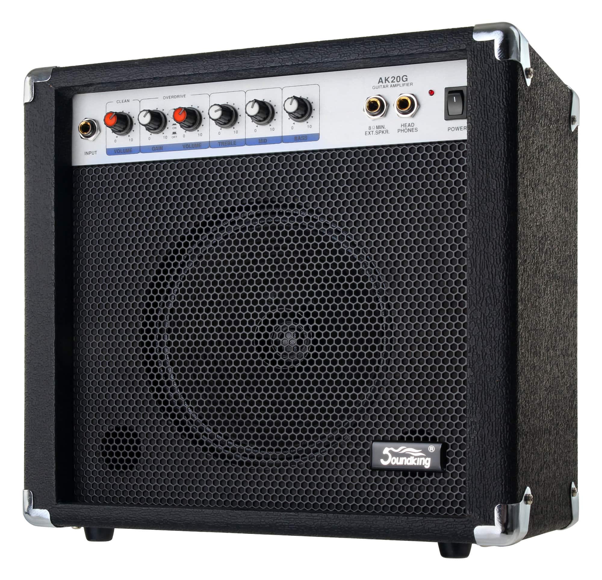 Soundking AK20 G Gitarrenverstärker 2 Kanal, 60 Watt