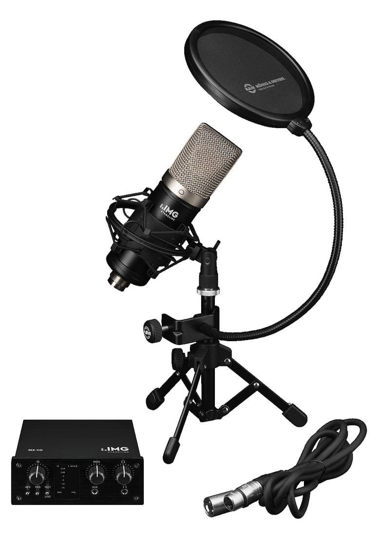 Pchardware - IMG Stage Line PODCASTER Bundle - Onlineshop Musikhaus Kirstein