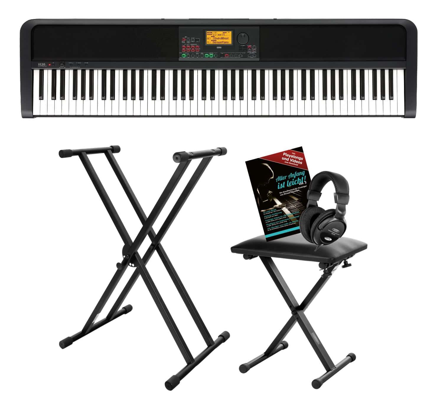 Stagepianos - Korg XE20 Digital Ensemble Piano Set - Onlineshop Musikhaus Kirstein