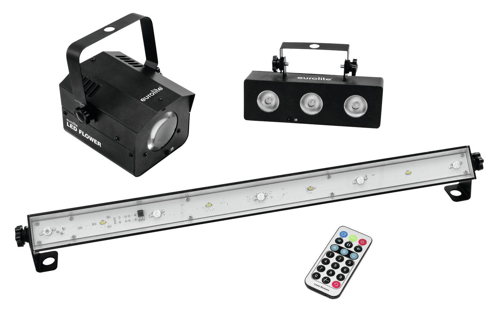 Lichteffekte - Eurolite LED Mini Partyset mit Fernbedienung - Onlineshop Musikhaus Kirstein