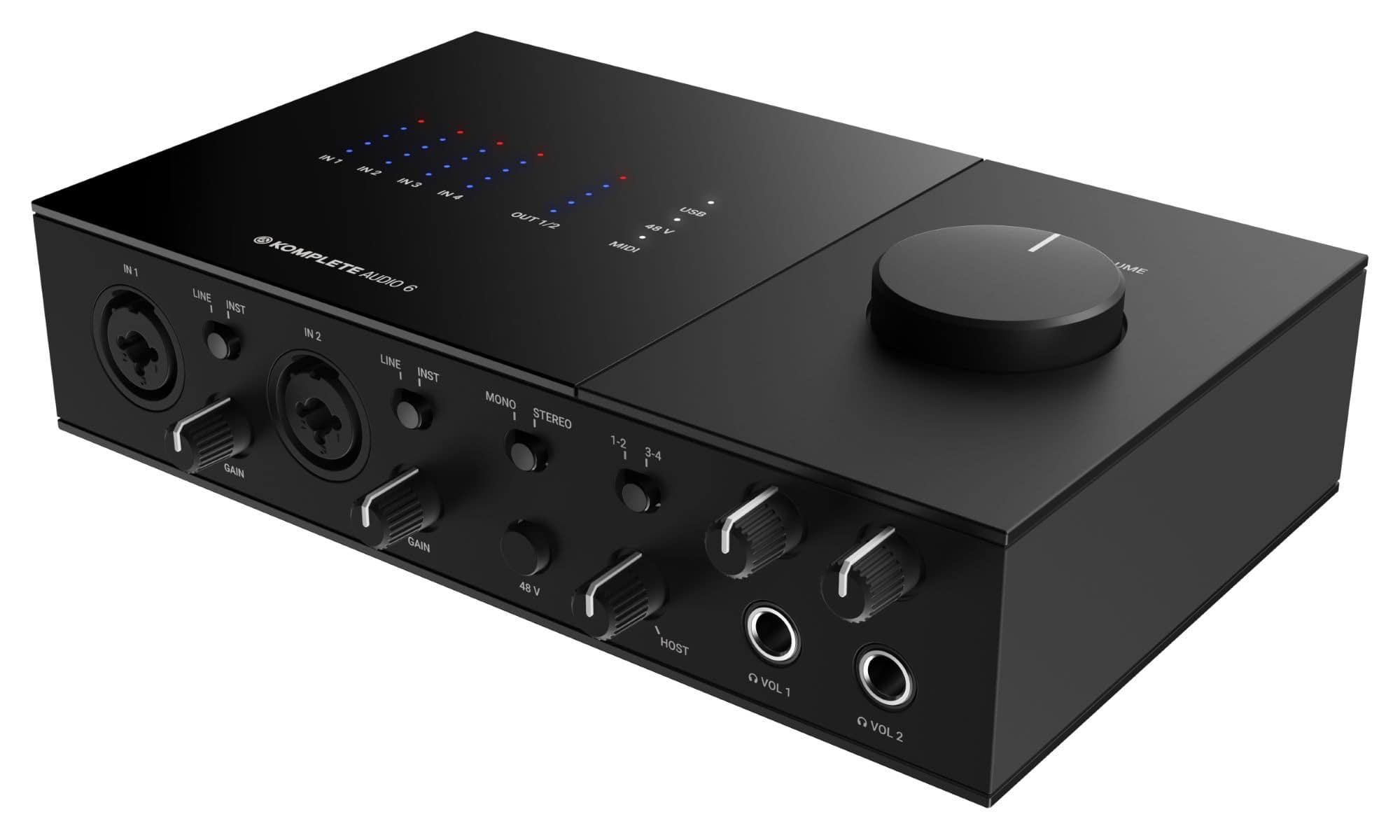 Pchardware - Native Instruments KOMPLETE Audio 6 MK2 - Onlineshop Musikhaus Kirstein