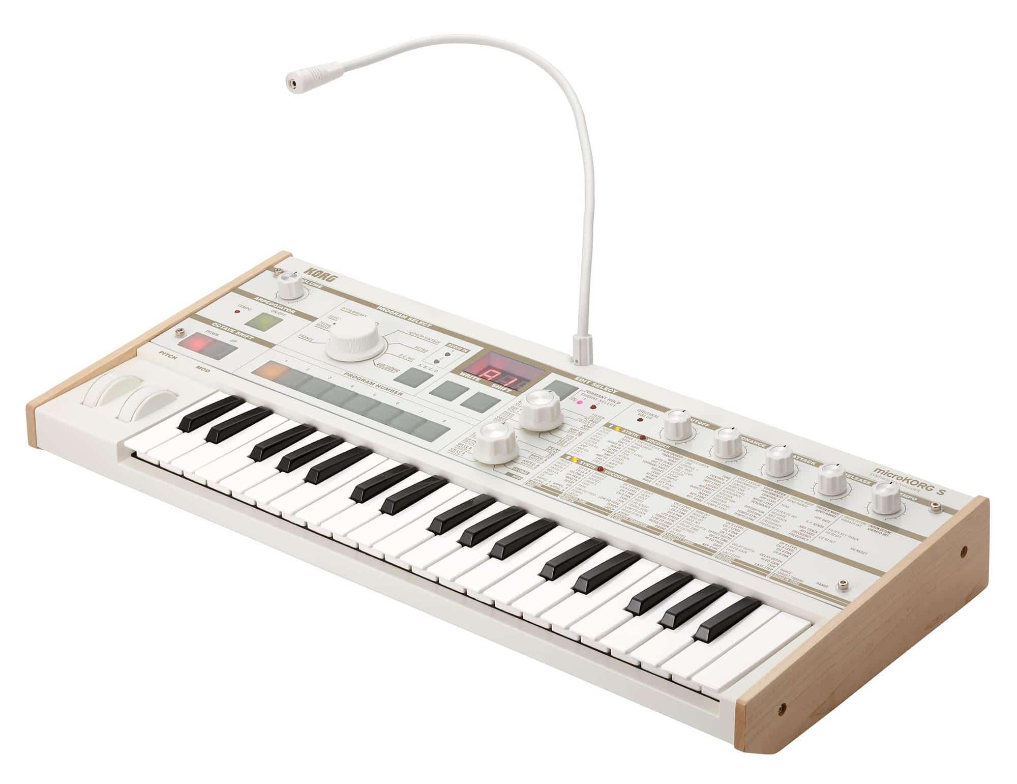 Synthesizer - Korg microKORG S - Onlineshop Musikhaus Kirstein