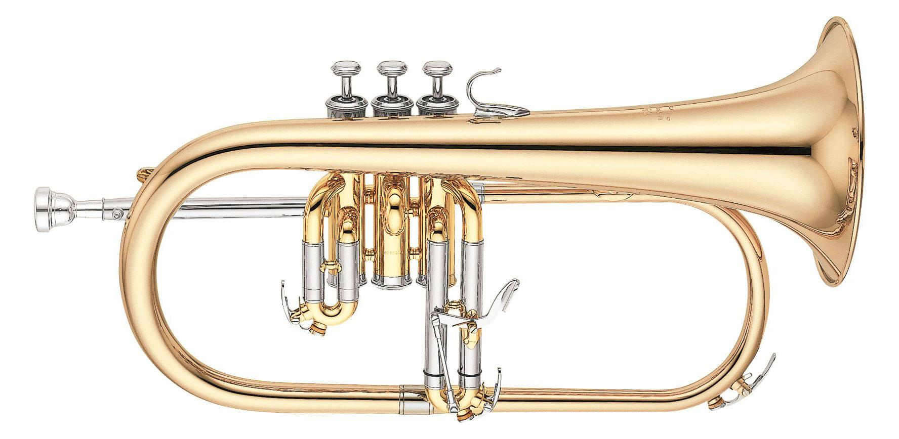 Hoerner - Yamaha YFH 631 G Bb Flügelhorn lackiert - Onlineshop Musikhaus Kirstein