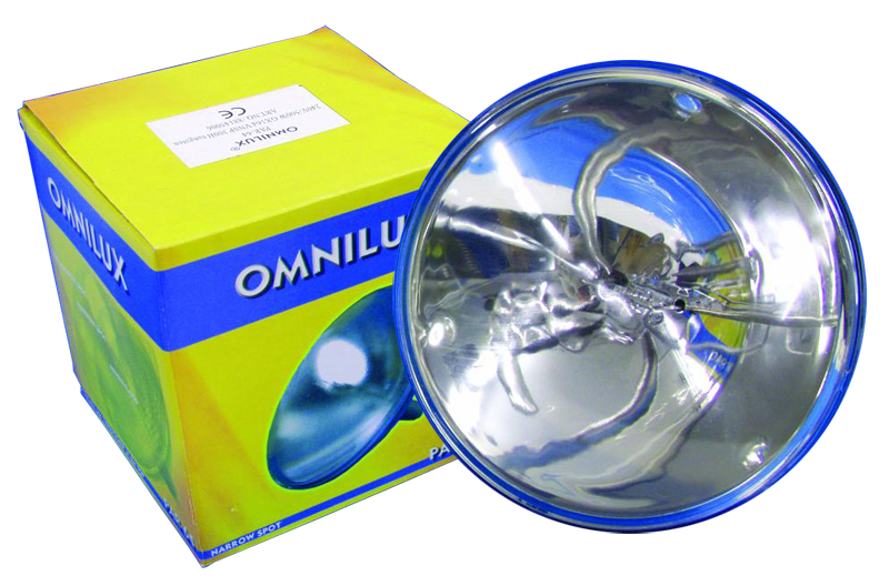 Lichtzubehoer - Omnilux PAR 64 1000W VNSP Halogen - Onlineshop Musikhaus Kirstein