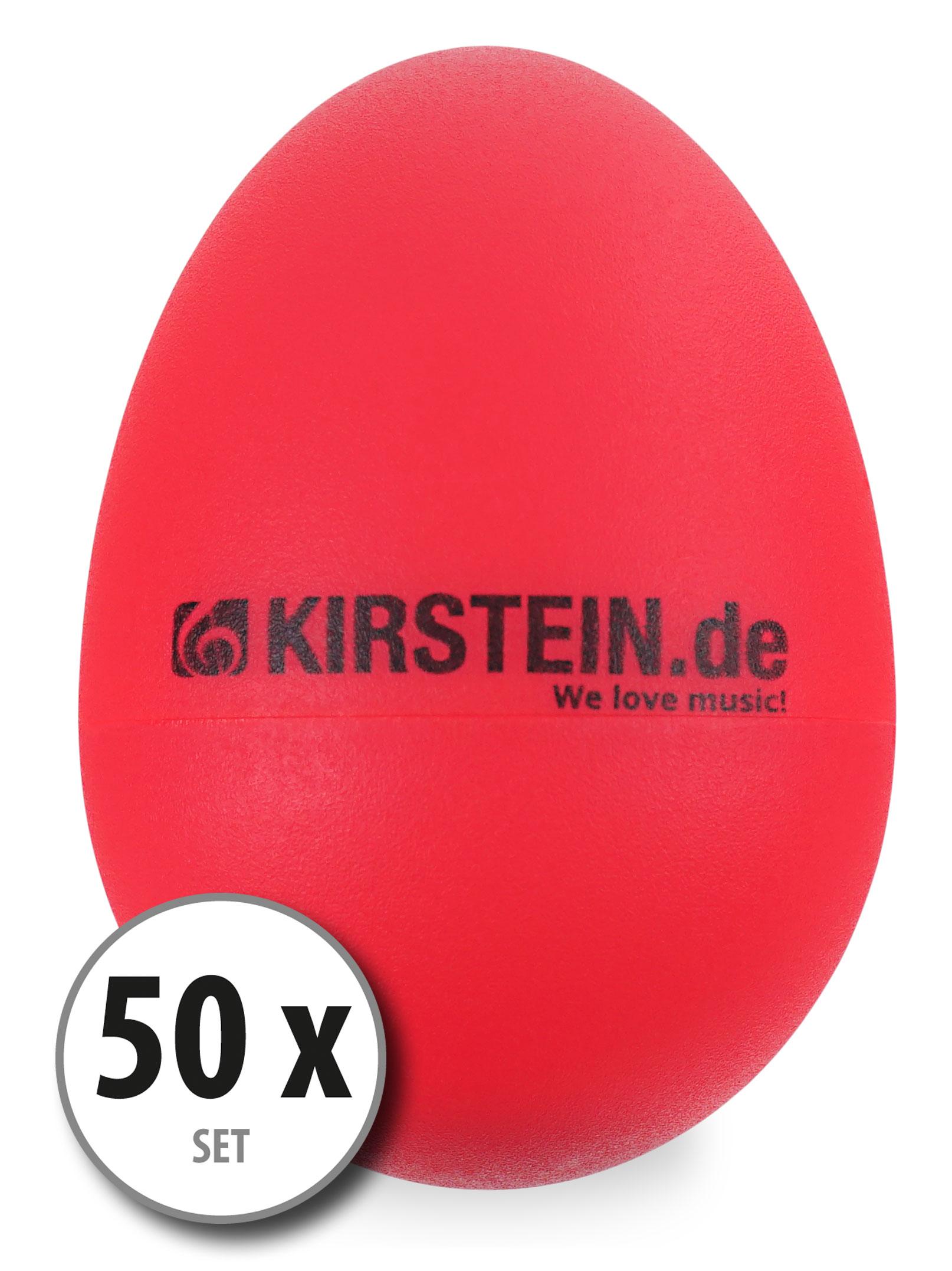 50x Kirstein ES 10R Egg Shaker rot Light Set