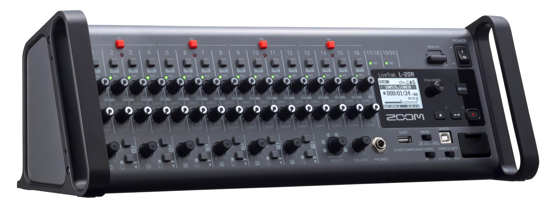Mischpulte - Zoom LiveTrak L 20R - Onlineshop Musikhaus Kirstein