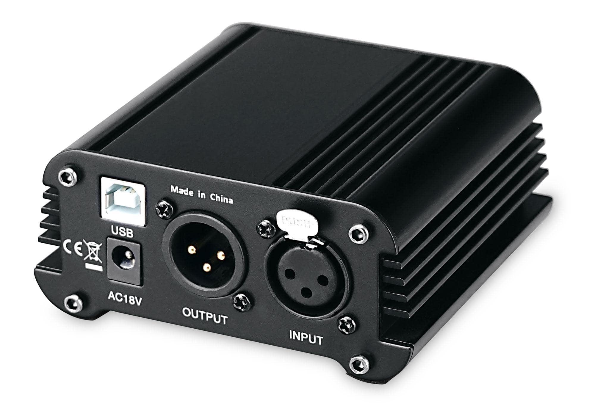 Pronomic PP 10 USB Phantomspeisung mit Audiointerface Retoure (Zustand sehr gut)