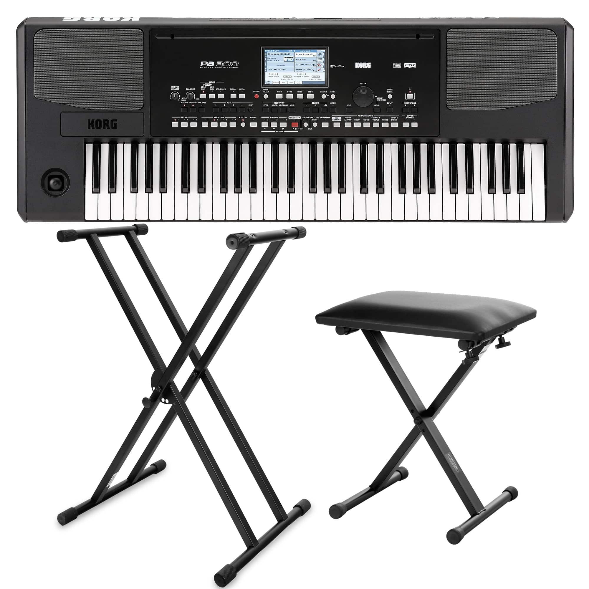 Korg PA 300 Keyboard SET