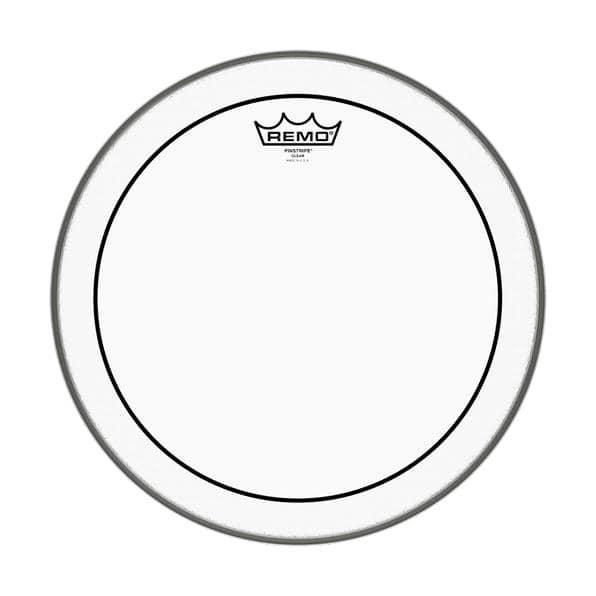 Remo 20' Pinstripe Clear Bass Drum