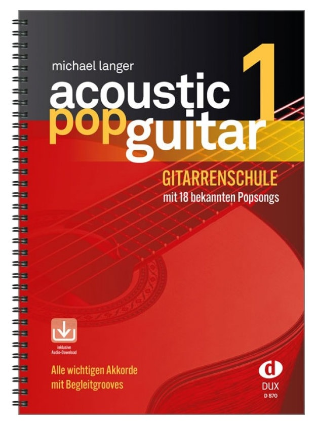Acoustic Pop Guitar 1 inkl. CD
