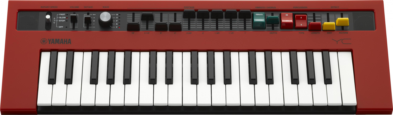Yamaha Reface YC Electric Combo Organ rot