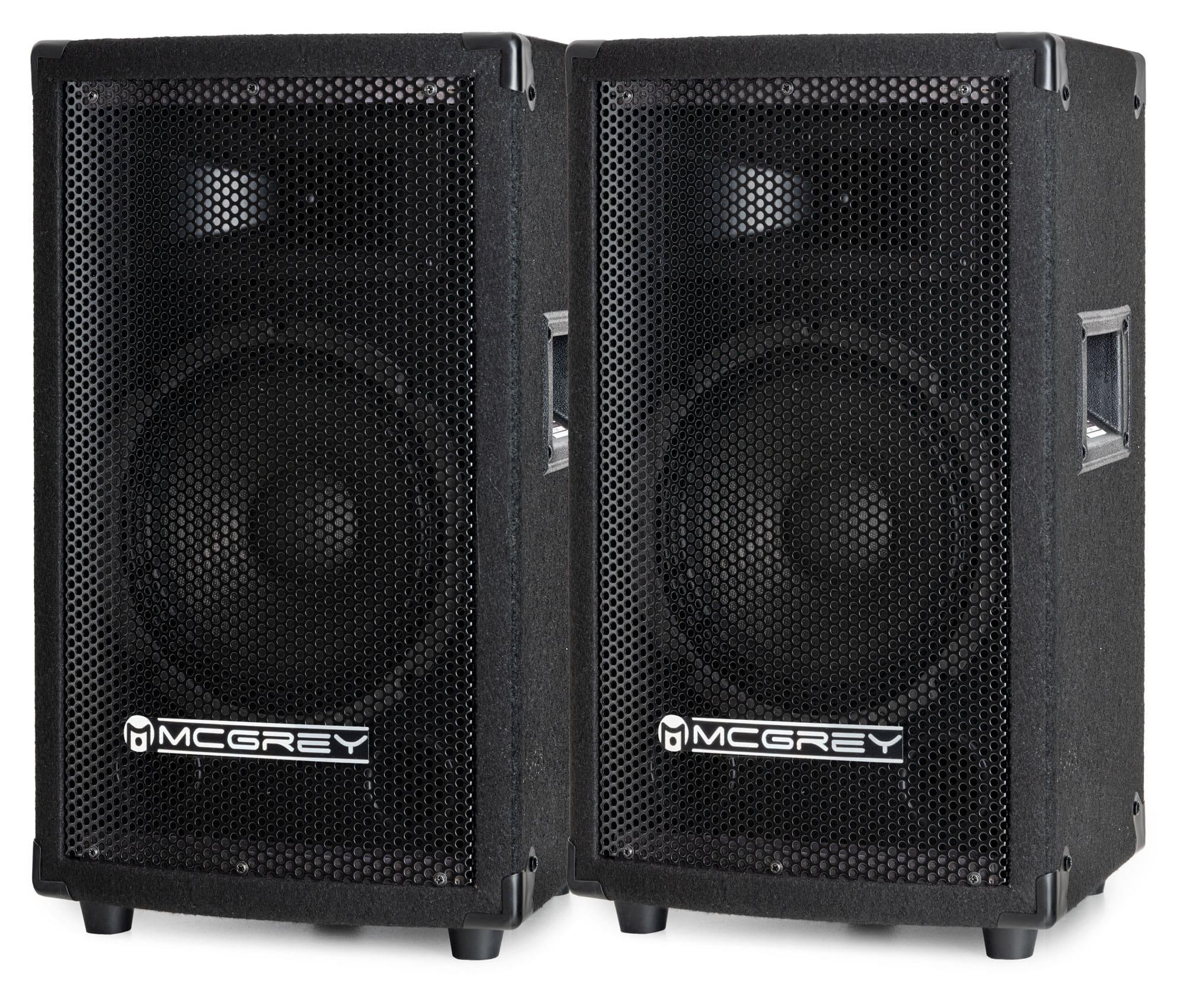 McGrey TP 8 DJ Partybox Lautsprecherbox 2x300W Sparangebot!