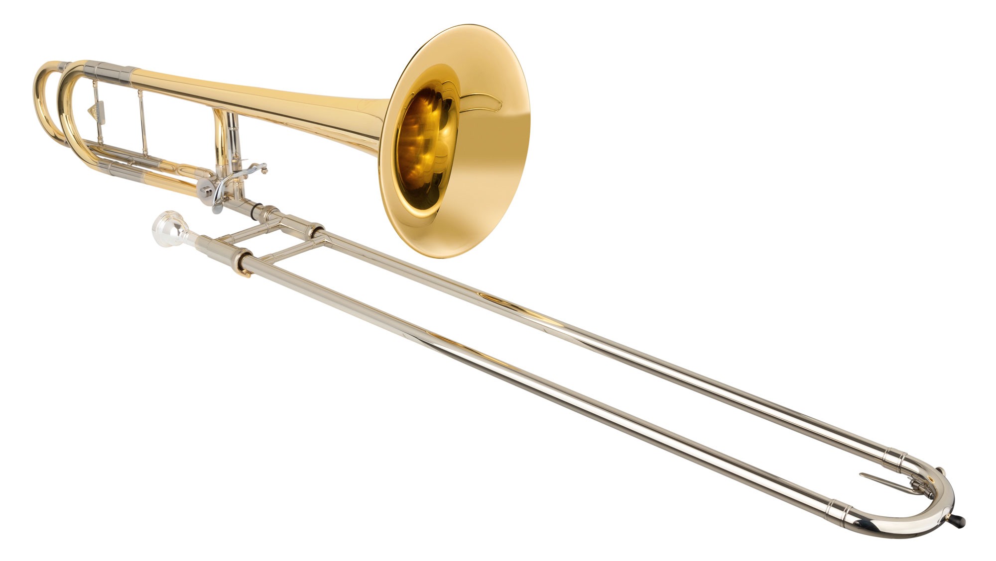 Posaunen - Kühnl Hoyer .547 B|F Tenorposaune Goldmessing - Onlineshop Musikhaus Kirstein