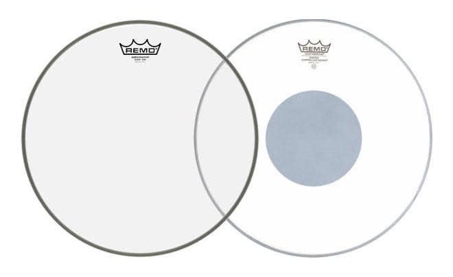Remo 14' CS Coated Black Dot Reso FellSet 14' Ambassador Snare Hazy Resonanz