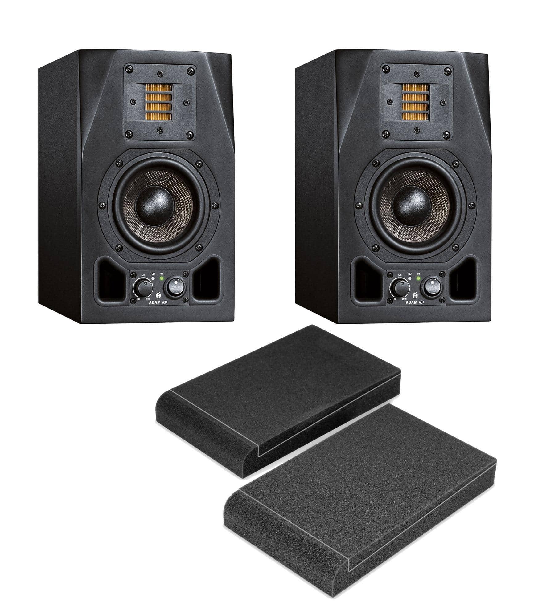 Studiomonitore - Adam Audio A3X ISO Bundle - Onlineshop Musikhaus Kirstein