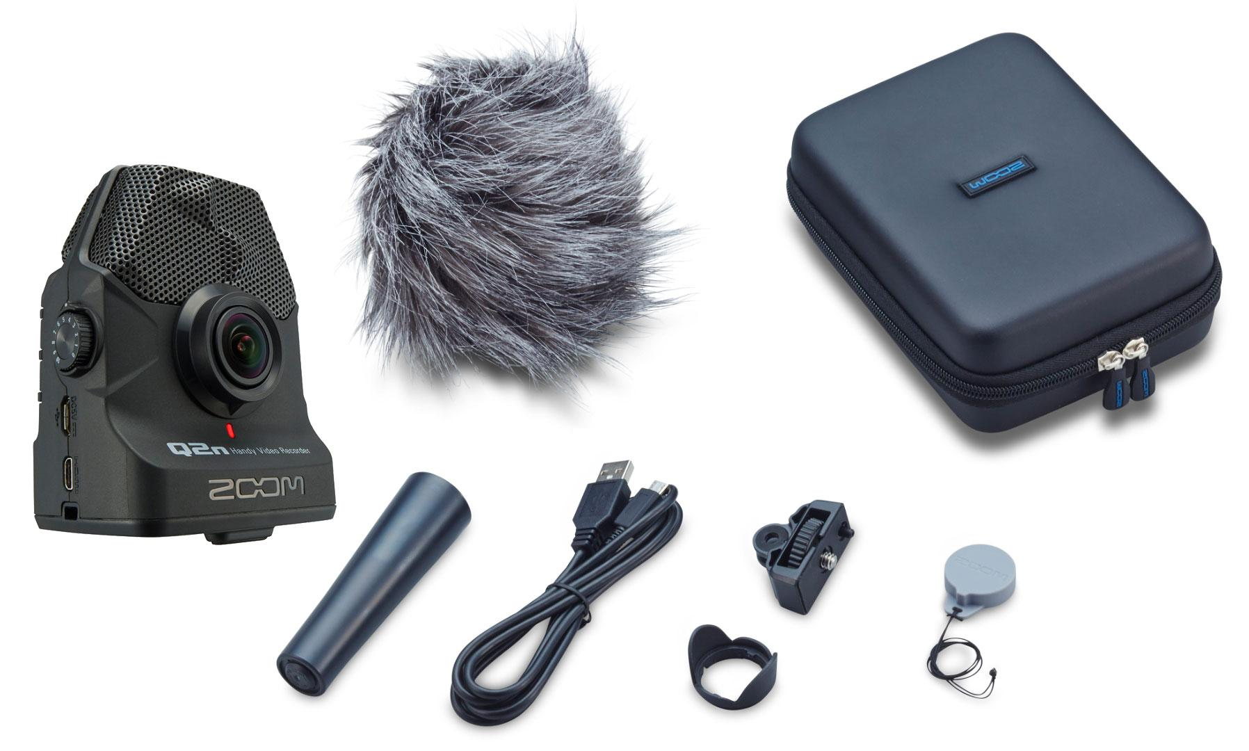 Zoom Q2n Handy Video Recorder Set inkl. Zoom APQ 2n
